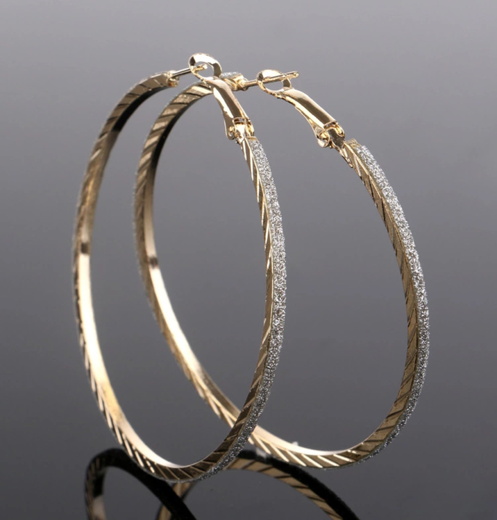 Silvia Gold Earrings