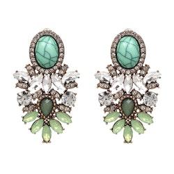 Nala Marble Green Örhängen