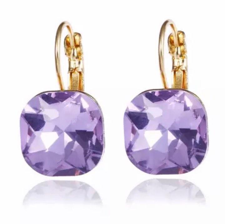 valerie Purple Earrings