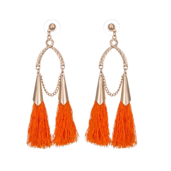 Tina Orange Örhängen