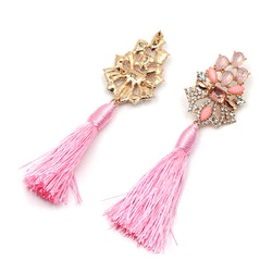 Örhängen Stina Pink Tassel