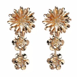 Magdalena Earrings Gold