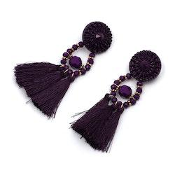 Amina Purple Örhängen