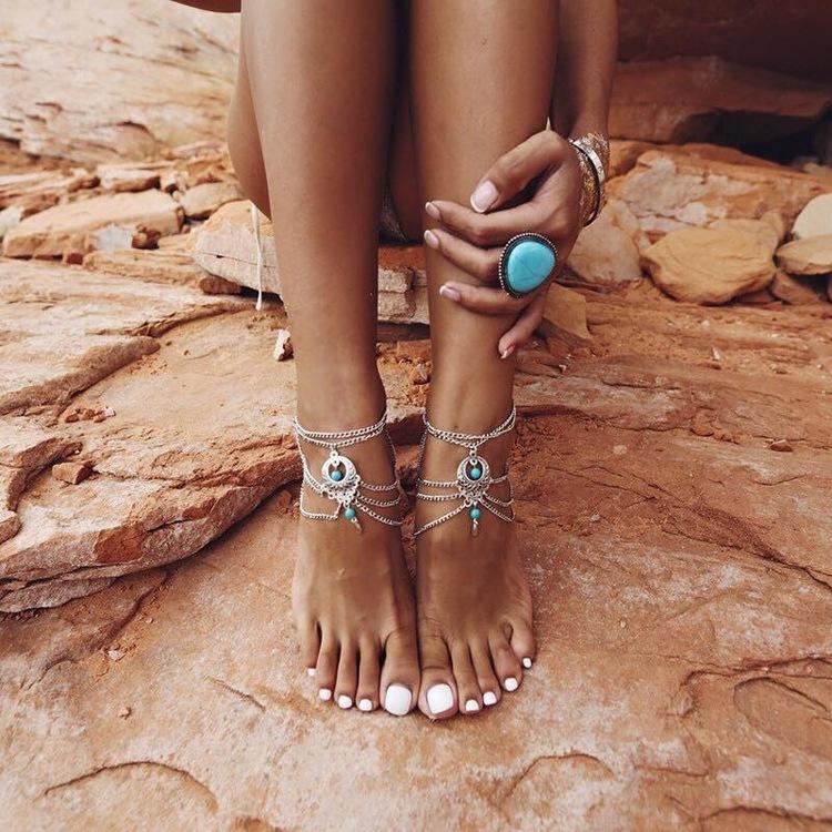Alicia Foot Chain