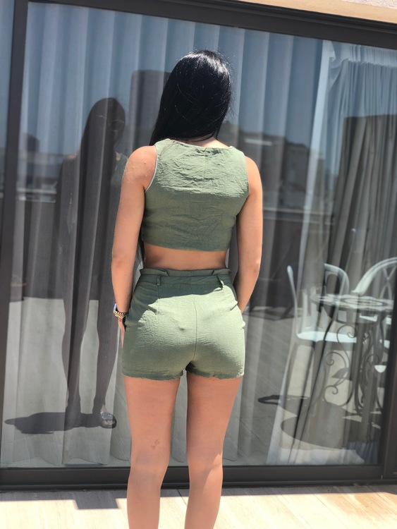 Sofia Set Green