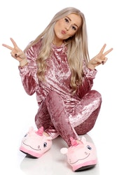 Mrs. Velvet Tracksuit Crushed  Pink