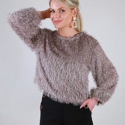 Cozy Chrissie Sweater Grey