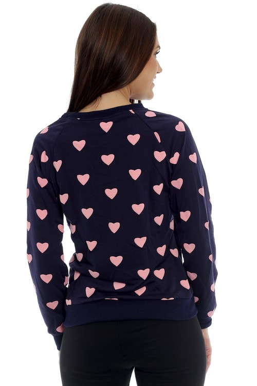 Lovely Dark Blue Sweater