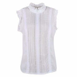 Valery Top White