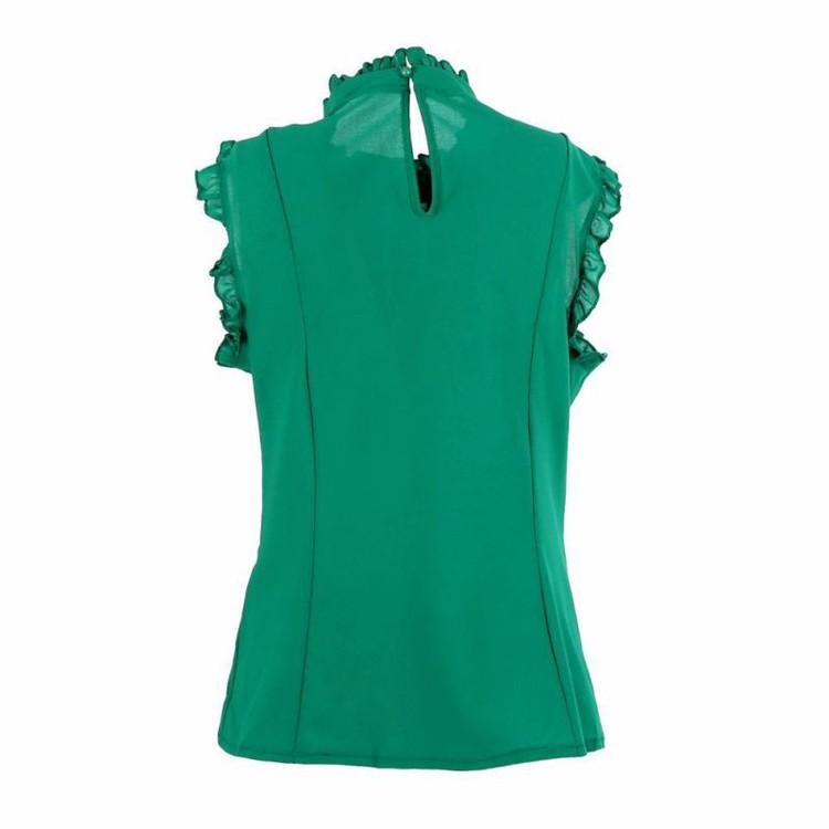 Valery Top Green