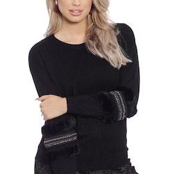 Babbi Faux Fur Black