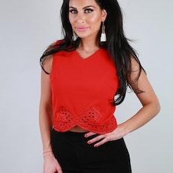 Caroline Top Red