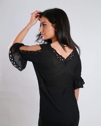 Melinda Top Black