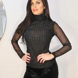 Roula Top Black