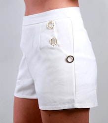 Jackie Shorts White