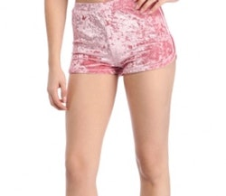 Mrs. Velvet Shorts Crushed Pink