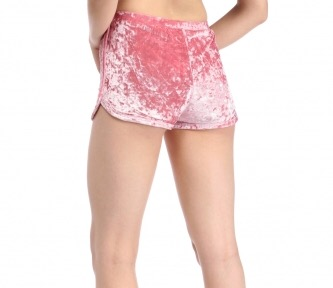Mrs. Velvet Shorts Crushed Pink
