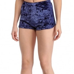 Mrs. Velvet Shorts Crushed Blue