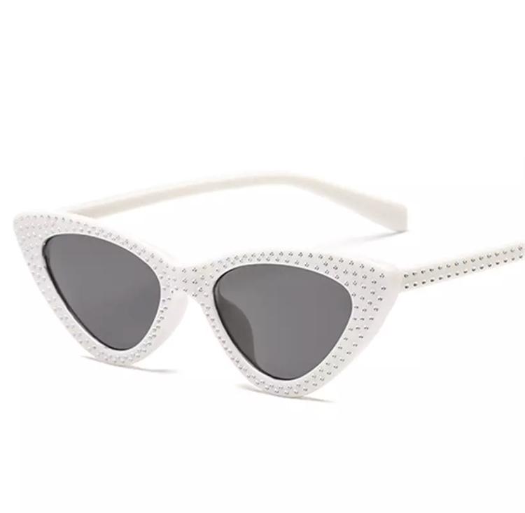 Cindy White Sunglasses
