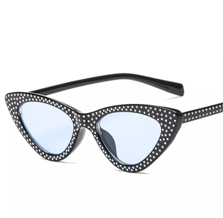 Cindy Sunglasses Black/Blue