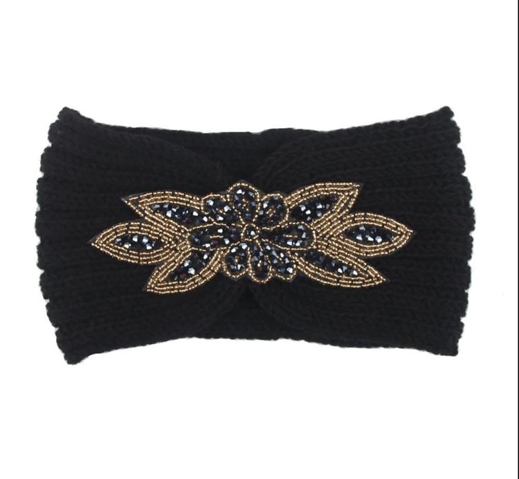 Melina Headband Black