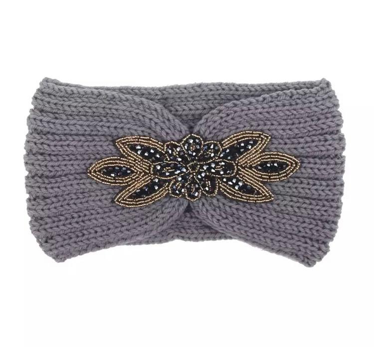 Melina Headband Grey