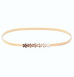 Flora Gold Belt
