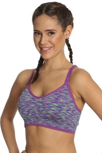 Running Sports Bra Purple