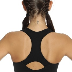 Seamless Sports Bra Black