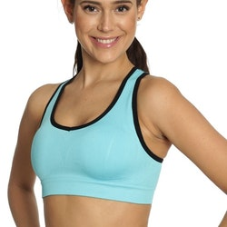 Seamless Sports Bra Blue