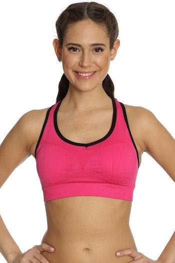 Seamless Sports Bra Pink