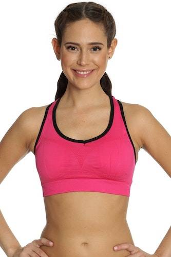 Seamless Sports Bra Pink