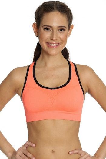 Seamless Sports Bra Orange