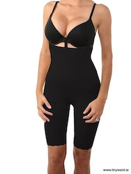 High Waist Buttlift And Tummy Control Black