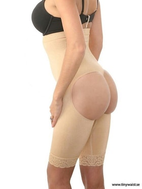 High Waist Buttlift And Tummy Control Nude