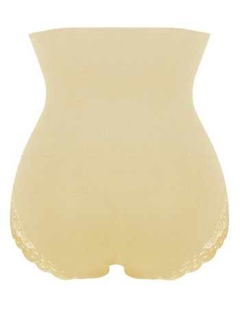 Steelboned Buttshaper Beige