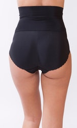 Highwaisted Secret Bum Bum Svart