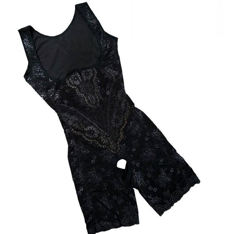 Lace BodyShaper Black