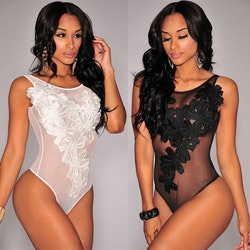Melissa Body Lace Black