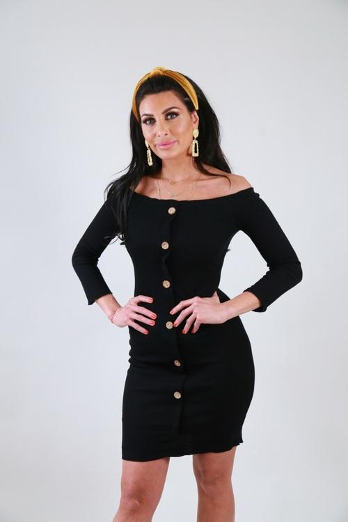 Ramina Dress Black