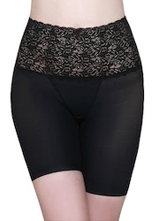 Highwaisted Slimming Shorts Lace