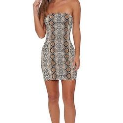 Snakeprint Dress