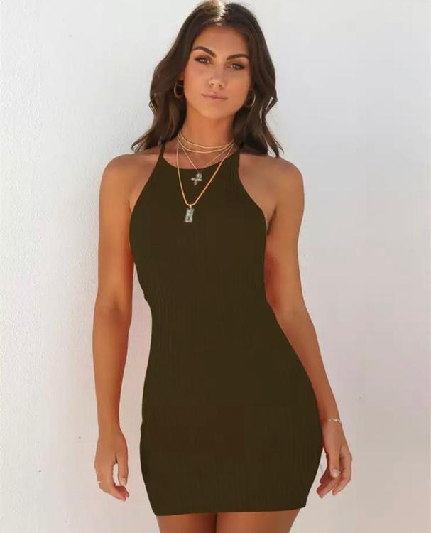 Miley Armygreen Dress