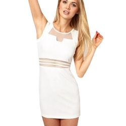 Sandra Dress White