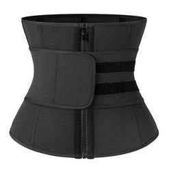 Emory - Unisex Neoprene Shaper Tummy Sweat Waistbelt Black