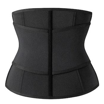 Emory - Unisex Neoprene Shaper Tummy Sweat Waistbelt Black