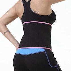 Waistbelt Sport Black/Pink