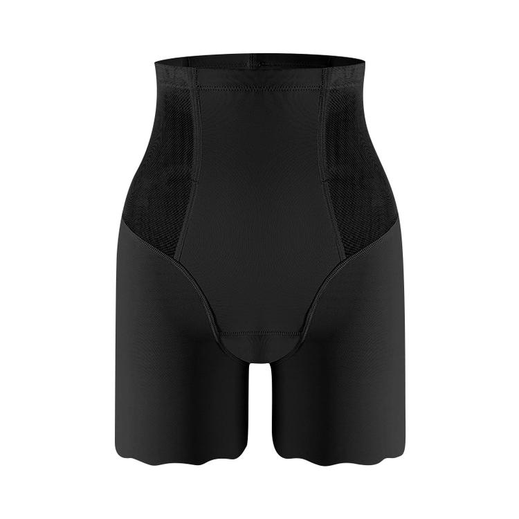 4 Steelboned HighWaisted Shorts Svart