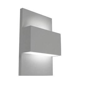 Norlys Geneve Utelampa Vägg Aluminium