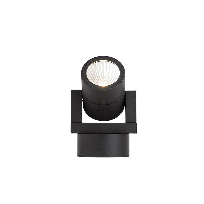 Rendl Orit Utelampa Vägg LED Svart